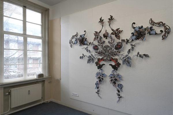 OVVT papiercollage,300 x 270cm